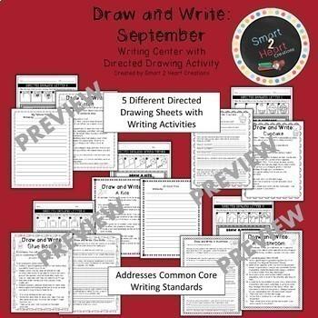 Draw and Write Full Year BUNDLE (Writing Center)