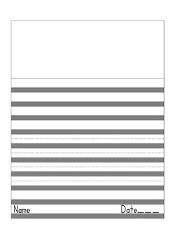 Draw and Write Gray