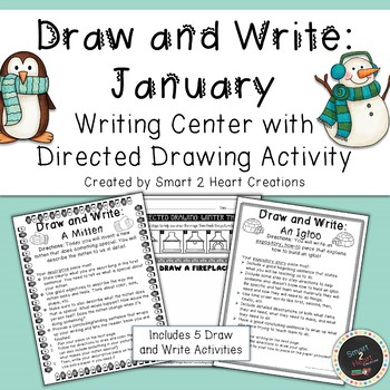 Draw and Write January (Writing and Directed Drawing Center)