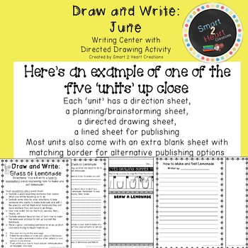 Draw and Write June (Writing and Directed Drawing Center)