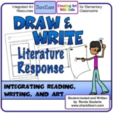 Printables Literature Response Draw and Write Distance Learning