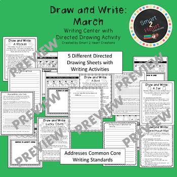 Draw and Write March (Writing and Directed Drawing Center)