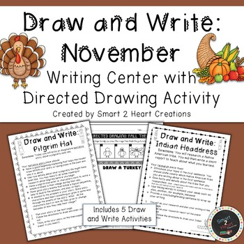 Draw and Write November (Writing and Directed Drawing Center)