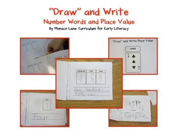 """""""Draw"""" and Write: Number Words and Place Value"""