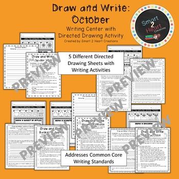 Draw and Write October (Writing and Directed Drawing Center)