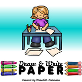 Draw and Write Paper - Create and illustrate short stories