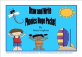 Draw and Write Phonics Sentences HUGE Bundle