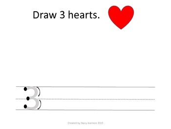 Draw and Write Prek Counting Booklet