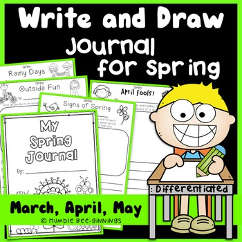 Journal Writing for Spring - Write and Draw