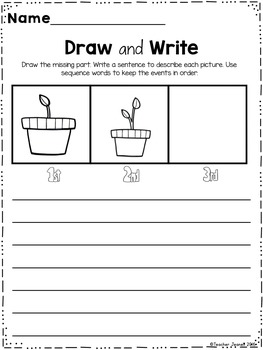 Sequence - Draw and Write