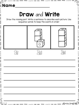 Sequencing - Draw and Write