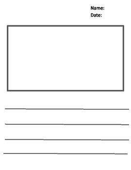 Draw and Write Template