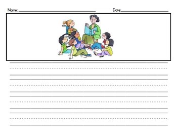Draw and Write Templates - Writing Prompts