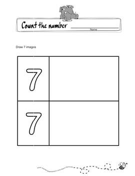 Draw how many
