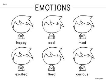 Draw in Emotions Activity