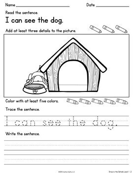 Sight Word Practice with Simple Sentences - Volume 1