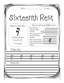 Draw it! Basic Rhythmic Patterns
