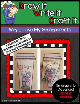 Draw it- Write it- Craft it {Grandparent's Day}