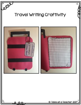 Draw it- Write it- Craft it {I want to go on a trip to...}