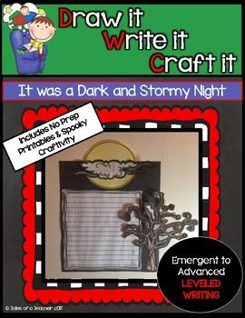 "Draw it- Write it- Craft it ~ ""It was a Dark and Stormy Night"""