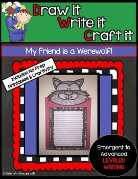 Draw it- Write it- Craft it - My Friend is a Werewolf!