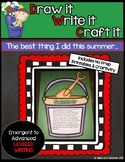 Draw it- Write it- Craft it {The Best Part of My Summer}
