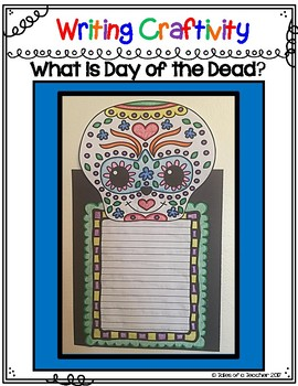"Draw it- Write it- Craft it ~ ""What is Day of the Dead?"""