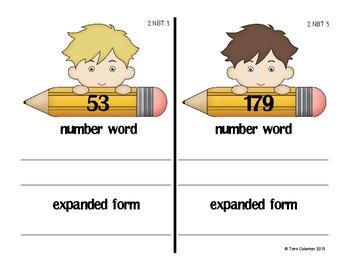 Draw it, Write it, Expand it (2.NBT.3)