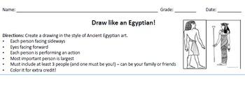 Draw like an Egyptian!