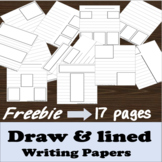 Draw & lined writing Papers (A School Year Writing Treasury)