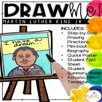 Draw me! Martin Luther King Jr.-Directed Drawing (CKLA, Core Knowledge)