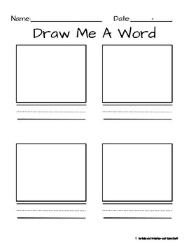 Draw me a word