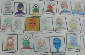 Drawing Lines Of Symmetry Worksheet : That alien reflection symmetry using a mirror line worksheets