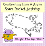 Draw that Spaceship! Constructing Angles & Using a Protractor Activity
