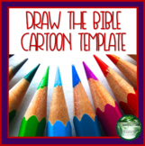 Draw the Bible Free Distance Learning Cartoon Template