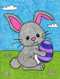 Draw the Easter Bunny