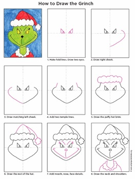 Draw the Grinch