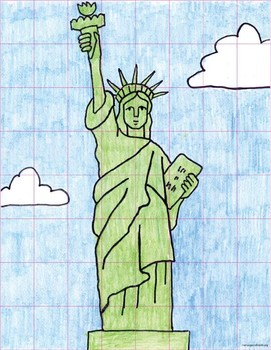 Draw the Statue of Liberty – Grid Method