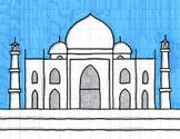 Draw the Taj Mahal