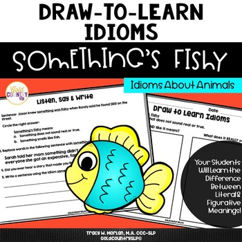Draw-to-Learn Idioms BUNDLE