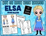 ELSA from FROZEN - Draw with Shapes