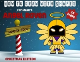 Draw with Shapes - FORTNITE ANGEL RAVEN - Christmas Edition