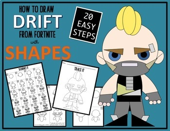 Early Finisher Activity Draw With Shapes Fortnite Drift Tpt