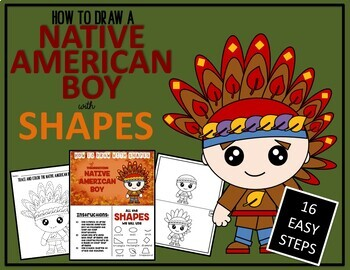 THANKSGIVING STORY BUNDLE - Draw with Shapes