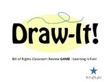 DrawIt! Bill of Rights Review Game - Drawing - 40 Cards! P