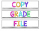 Drawer Labels {BRIGHT & Editable!}