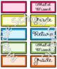 Drawer Labels - Brights