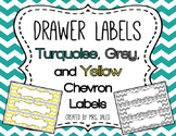 Drawer Labels - Editable Chevron