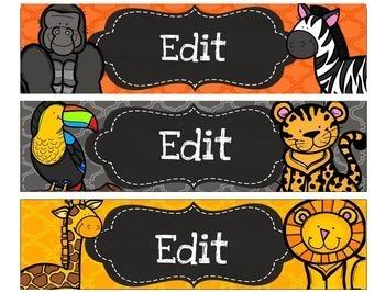 Drawer Labels Editable