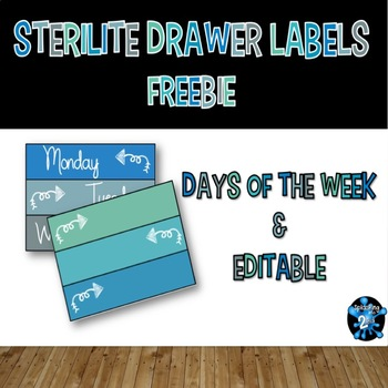 Drawer Labels Editable FREEBIE
